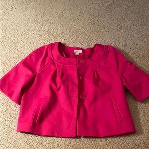 Short sleeve blazer